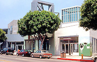 Frank Gehry: Edgemar Shopping Center, So. Main Street, Santa Monica, CA. 1984-88.  Photo '91.