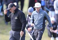 Sunday 31st May 2015; Ricardo Gonzalez, Argentina, acknowledges the crowd<br /> <br /> Dubai Duty Free Irish Open Golf Championship 2015, Round 4 County Down Golf Club, Co. Down. Picture credit: John Dickson / DICKSONDIGITAL