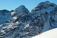 Hintere Jamspitze, Switzerland, December 2015.