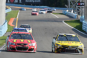 Monster Energy NASCAR Cup Series<br /> I LOVE NEW YORK 355 at The Glen<br /> Watkins Glen International, Watkins Glen, NY USA<br /> Sunday 6 August 2017<br /> Daniel Suarez, Joe Gibbs Racing, STANLEY Toyota Camry, Jamie McMurray, Chip Ganassi Racing, McDonald's Chevrolet SS<br /> World Copyright: John K Harrelson<br /> LAT Images
