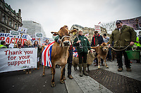 """23.03.2016 - """"What's Your Plan For Farming Mr. Cameron?"""" - Farmers Demo in London"""