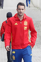 Mario Gaspar during Spanish national football team stage. March 22,2016. (ALTERPHOTOS/Acero)