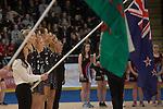Swansea University International Netball Test Series: Wales v New Zealand<br /> Ice Arena Wales<br /> 08.02.17<br /> ©Steve Pope - Sportingwales