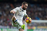 Daniel Carvajal of Real Madrid during the match of Spanish La Liga between Real Madrid and UD Las Palmas at  Santiago Bernabeu Stadium in Madrid, Spain. March 01, 2017. (ALTERPHOTOS / Rodrigo Jimenez)