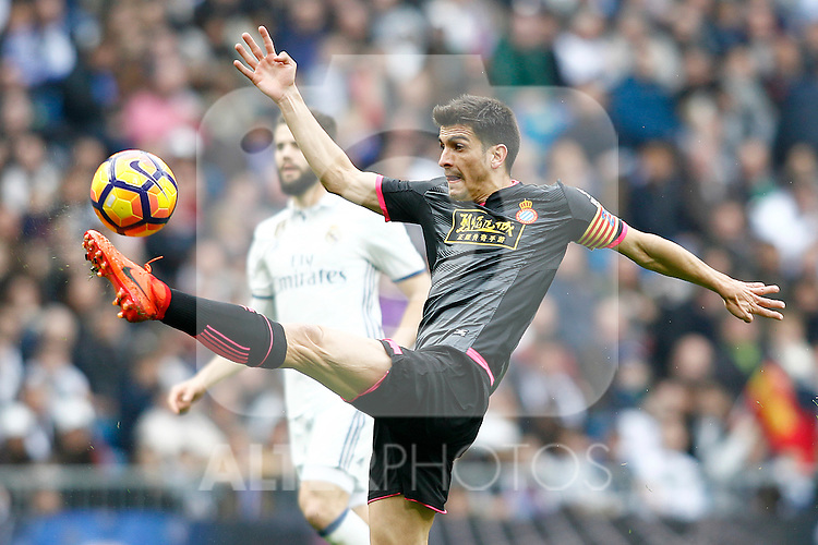 RCD Espanyol's Gerard Moreno during La Liga match. February 18,2017. (ALTERPHOTOS/Acero)