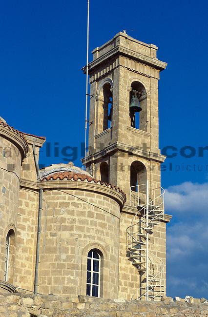Griechisch Orthotoxe Kirche, Church, Paphos, Pafos, Cyprus. Zypern.