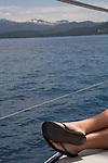 Sailing on Lake Tahoe