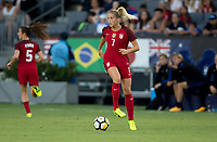 Carson, CA - Thursday August 03, 2017: Abby Dahlkemperduring a 2017 Tournament of Nations match between the women's national teams of the United States (USA) and Japan (JAP) at StubHub Center.