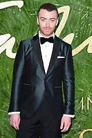 Sam Smith<br /> arriving for The Fashion Awards 2017 at the Royal Albert Hall, London<br /> <br /> <br /> ©Ash Knotek  D3356  04/12/2017