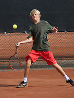 August 6, 2014, Netherlands, Rotterdam, TV Victoria, Tennis, National Junior Championships, NJK,  Liam Liles (NED)<br /> Photo: Tennisimages/Henk Koster