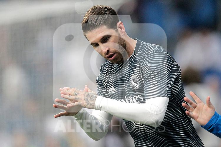 Real Madrid CF's Sergio Ramos during La Liga match. March 02,2019. (ALTERPHOTOS/Alconada)