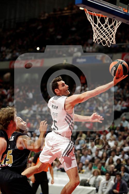 Real Madrid´s Rudy Fernandez  during Euroleague Basketball match. November 01,2013. (ALTERPHOTOS/Victor Blanco)