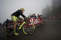 2013 Giro d'Italia.stage 14: Cervere - Bardonecchia.168km..Oscar Gatto (ITA)