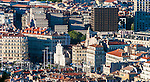 View of downtown Marseille, France