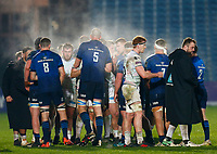 19th March 2021; RDS Arena, Dublin, Leinster, Ireland; Guinness Pro 14 Rugby, Leinster versus Ospreys; The  teams shake hands at the full time whistle 19 - 24