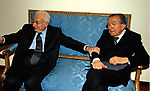 FRANCESCO COSSIGA CON GIULIO ANDREOTTI <br /> LAUREA AD HONOREM A GIULIO ANDREOTTI - UNIVERSITA' LATERANENSE 2004