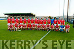 East Kerry team before the Kerry County Senior Football Championship Final match between East Kerry and Mid Kerry at Austin Stack Park in Tralee on Saturday night.