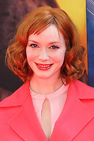 """BURBANK, CA, USA - MARCH 22: Christina Hendricks at the Los Angeles Premiere of DisneyToon Studios' """"The Pirate Fairy"""" held at Walt Disney Studios on March 22, 2014 in Burbank, California, United States. (Photo by Xavier Collin/Celebrity Monitor)"""