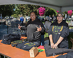 Naomi Hunkin and Lou Soto during the inaugural Bud and Brew Music Festival in Wingfield Park in downtown Reno on Saturday, Sept. 23, 2017.