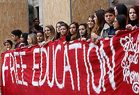20151117 ROMA-CRONACA: STUDENTI IN PIAZZA