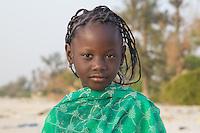 Coastal people of St Louis in northern Senegal