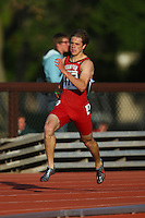 4 May 2008: Stanford Cardinal Spencer Castro during Stanford's Payton Jordan Cardinal Invitational at Cobb Track & Angell Field in Stanford, CA.