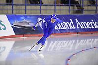 SPEEDSKATING: CALGARY: Olympic Oval, 02-03-2019, ISU World Allround Speed Skating Championships, 5000m Men, Francesco Betti (ITA), ©Fotopersburo Martin de Jong
