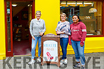 Footprints Opens: Footprints store in Listowel reopened on Monday last  Gill Finnucane, Siobhan O'Sullivan & Ariceyda Hilliard.