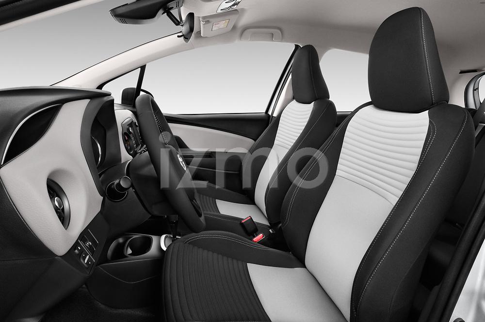 Front seat view of 2017 Toyota Yaris Comfort 5 Door Hatchback front seat car photos