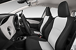 Front seat view of 2017 Toyota Yaris Comfort 5 Door Hatchback front seat car photos