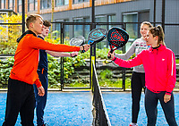 Amsterdam, Netherlands, 9  December, 2020, Padel Photoshoot<br /> Photo: Henk Koster/tennisimages.com