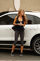 Chrishell Stause Spotted at Dancing With The Stars Practice