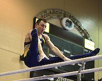 Men's 2010 NCAA Gymnastics Day 1
