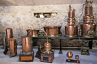 """Europe/France/Midi-Pyrénées/46/Lot/Souillac: Alambics de la Distillerie Louis Roque 41 Av Jean Jaurès qui produit la célèbre """"Vieille Prune"""""""