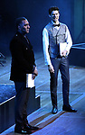 """Norm Lewis and Drew Gehling performing during the MCP Production of """"The Scarlet Pimpernel"""" Concert at the David Geffen Hall on February 18, 2019 in New York City."""