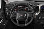 Car pictures of steering wheel view of a 2020 GMC Sierra-3500HD - 4 Door Pick-up Steering Wheel