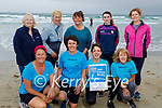 Launching the Night Nurse 5k fundraiser for the Irish Cancer Society in memory of the late Chris O'Shea from Ardfert and its a 5k jog, walk or run on Thursday 1st July. Kneeling l to r: Mags Moore, Joan Reil Burke, Antoinette O'Mahoney and Eileen Leen. Standing l to r: Eileen Kirwin, Mary McElligott, Coleen Shields, Nora and Noreen Leen.