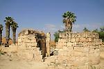 Hurvat Minim (Khirbet al-Minya) by the Sea of Galilee
