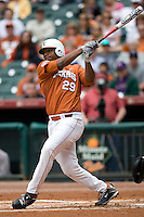 NCAA Baseball featuring the Texas Longhorns against the Missouri Tigers. Keyes, Kevin 4865  at the 2010 Astros College Classic in Houston's Minute Maid Park on Sunday, March 7th, 2010. Photo by Andrew Woolley