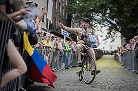 """Le gendarme du Tour<br /> <br /> """"Le Grand Départ"""" <br /> 104th Tour de France 2017 <br /> Team Presentation in Düsseldorf/Germany"""