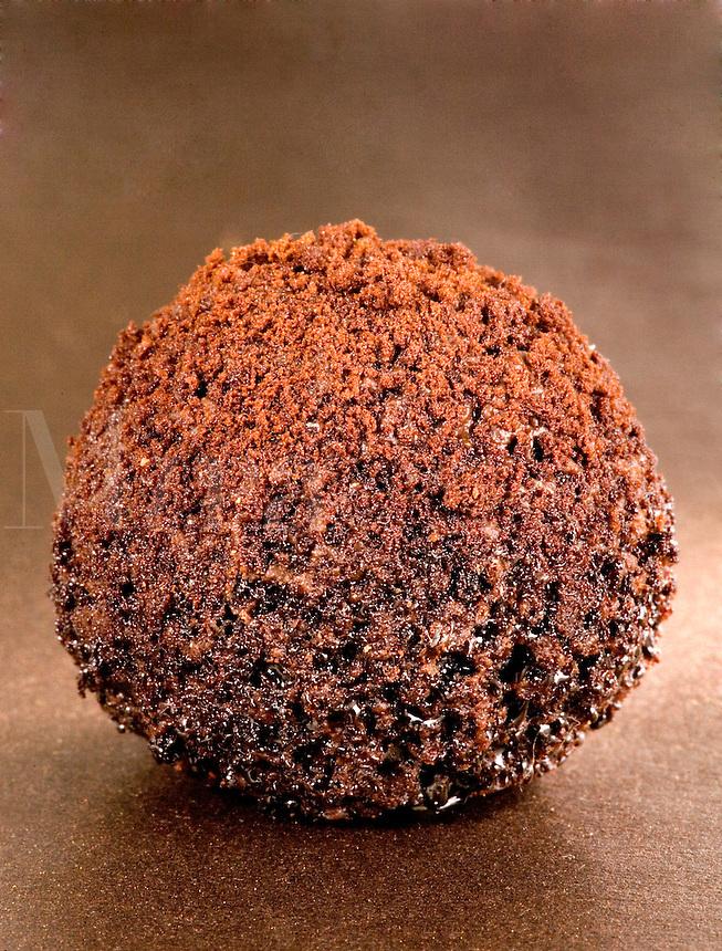 Chili Chocolate Truffles on Bronze