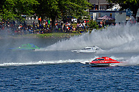 "Mario Blain/Robin Demers, GP-757 ""Canada Boy"", GP-18, Brandon Kennedy, GP-25 ""EMS Survivor"" (Grand Prix Hydroplane(s)"