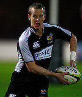 Photo: Richard Lane/Richard Lane Photography. London Wasps in Abu Dhabi for their LV= Cup game against Harlequins on 30st January 2011. 26/01/2011. Wasps' Dave Walder during training at the Zyaid Sports City.