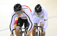 Southland's Matt Archibald at the BikeNZ Elite & U19 Track National Championships, Avantidrome, Home of Cycling, Cambridge, New Zealand, Sunday, March 16, 2014. Credit: Dianne Manson