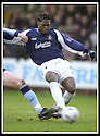25/1/03       Copyright Pic : James Stewart                  .File Name : stewart-falkirk v hearts 22.COLIN SAMUEL SCORES FALKIRK'S THIRD GOAL.......James Stewart Photo Agency, 19 Carronlea Drive, Falkirk. FK2 8DN      Vat Reg No. 607 6932 25.Office : +44 (0)1324 570906     .Mobile : + 44 (0)7721 416997.Fax     :  +44 (0)1324 570906.E-mail : jim@jspa.co.uk.If you require further information then contact Jim Stewart on any of the numbers above.........