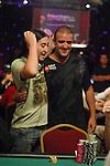 Rodrigo Seiji Sirichuk gets some support from fellow countryman, Andre Akkari.