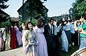 France 1990  Kurdish wedding in Mainsat in Creuse   France 1990 Mariage kurde a Mainsat dans la Creuse