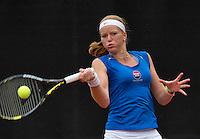 07-08-13, Netherlands, Rotterdam,  TV Victoria, Tennis, NJK 2013, National Junior Tennis Championships 2013, Claire Verwerda<br /> <br /> <br /> Photo: Henk Koster