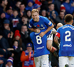 11.11.2018 Rangers v Motherwell: Scott Arfield after hisa second goal
