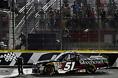 NASCAR Camping World Truck Series<br /> North Carolina Education Lottery 200<br /> Charlotte Motor Speedway, Concord, NC USA<br /> Friday 19 May 2017<br /> Kyle Busch, Cessna Toyota Tundra<br /> World Copyright: Rusty Jarrett<br /> LAT Images<br /> ref: Digital Image 17CLT1rj_4206